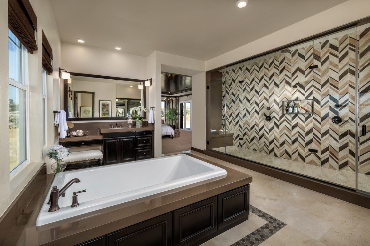 New Homes in Riverside , CA - The Trails at Mockingbird Canyon Residence 4011 - Master Bathroom