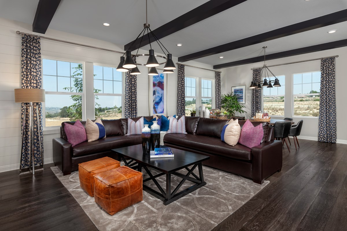 New Homes in Riverside , CA - The Trails at Mockingbird Canyon Residence 5380 - Game Room