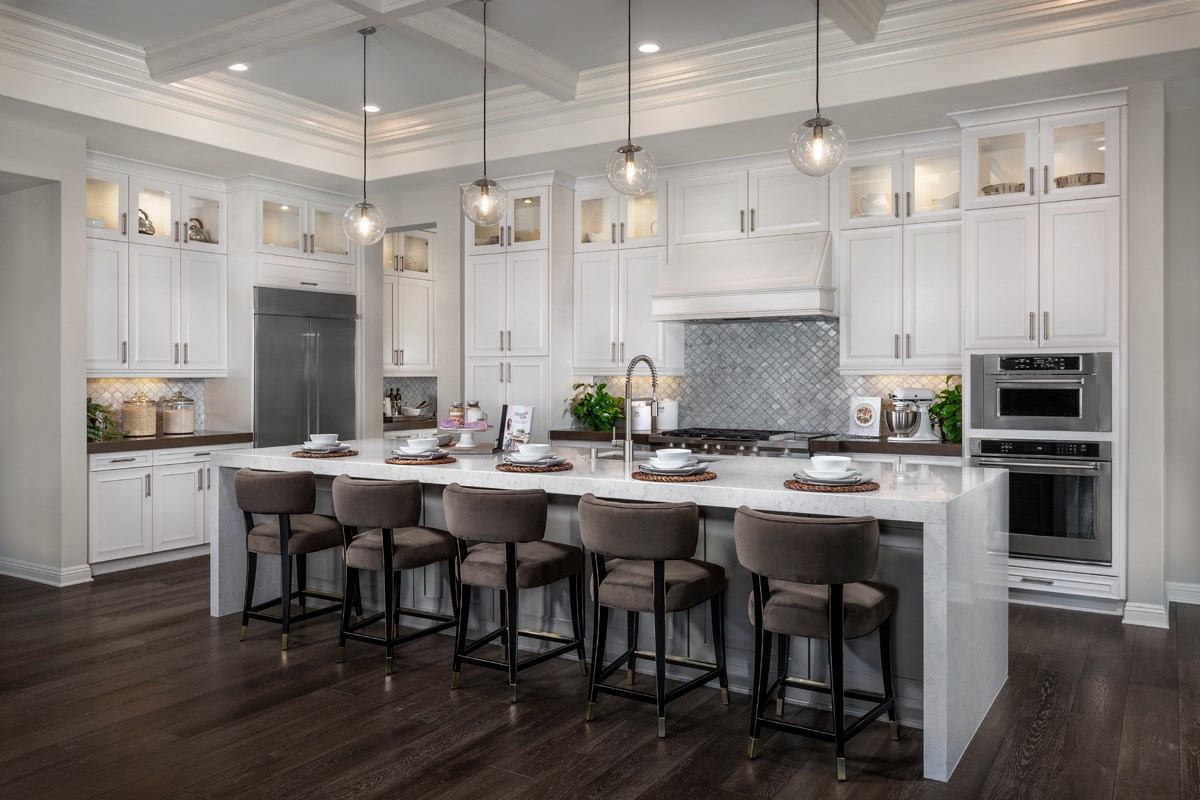 New Homes in Riverside , CA - The Trails at Mockingbird Canyon Residence 5380 - Kitchen