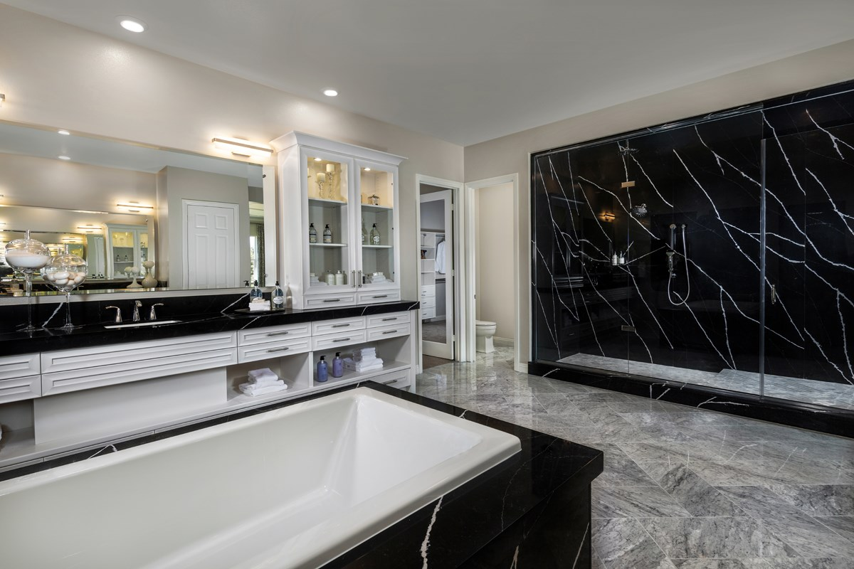 New Homes in Riverside , CA - The Trails at Mockingbird Canyon Residence 5380 - Master Bathroom