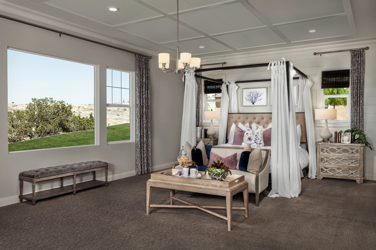 New Homes in Riverside , CA - The Trails at Mockingbird Canyon Residence 5380 - Master Bedroom