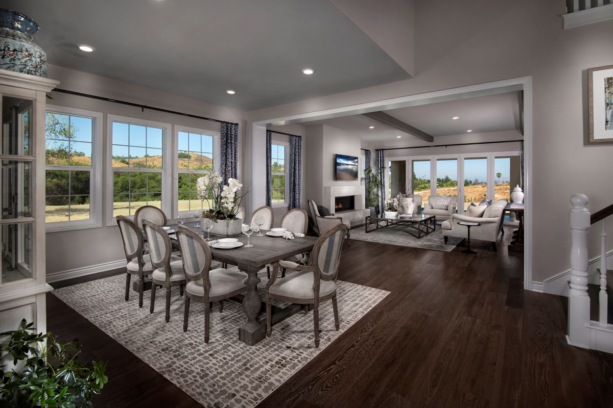 New Homes in Riverside , CA - The Trails at Mockingbird Canyon Residence 5084 - Formal Dining Room