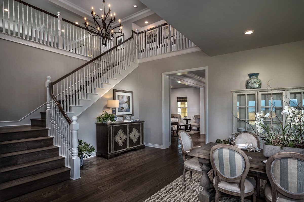 New Homes in Riverside , CA - The Trails at Mockingbird Canyon Residence 5084 - Stairway