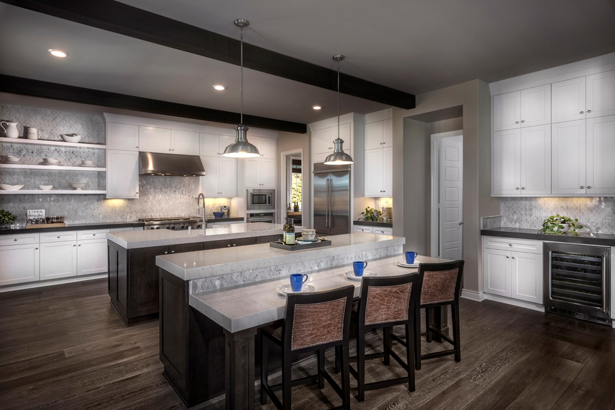 New Homes in Riverside , CA - The Trails at Mockingbird Canyon Residence 5084 - Kitchen