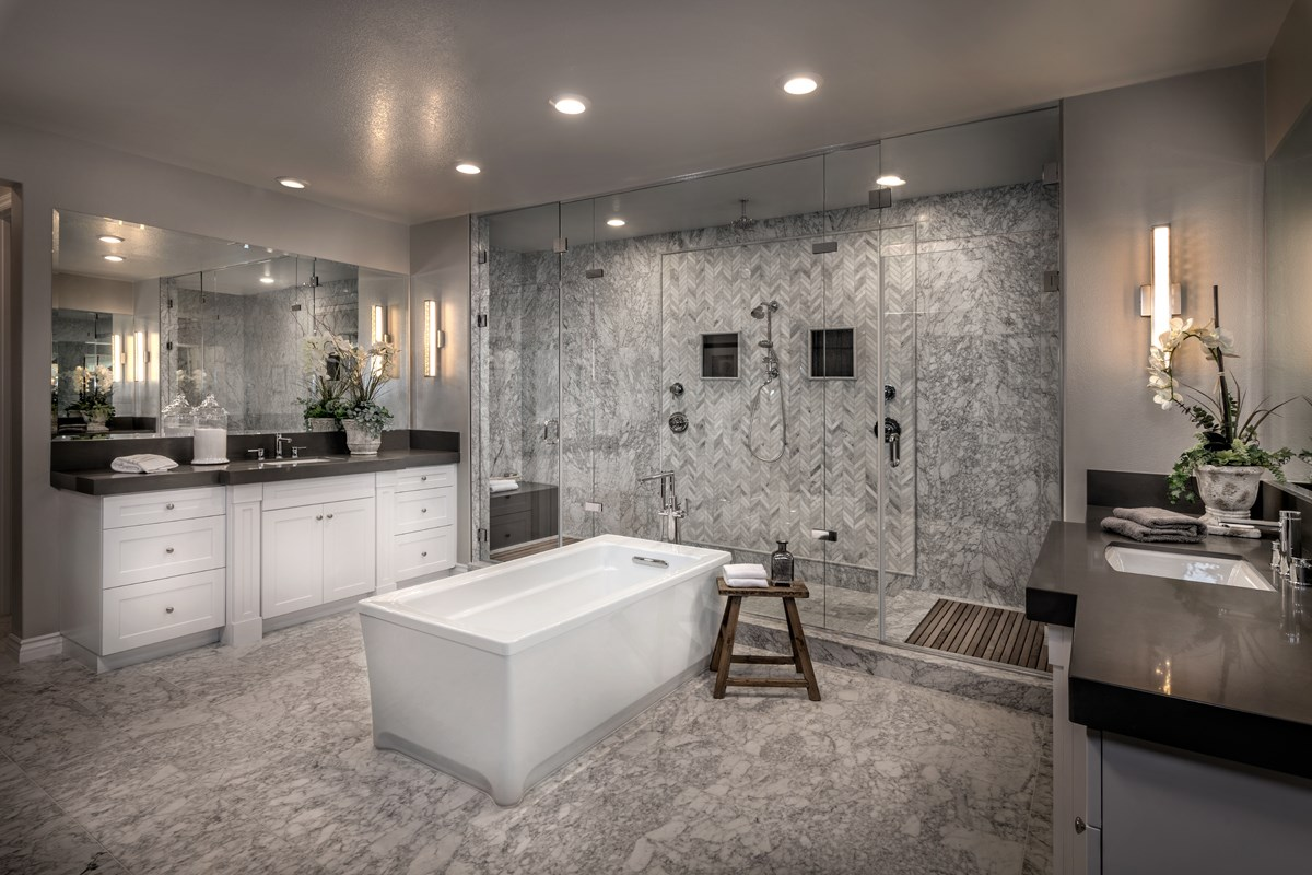 New Homes in Riverside , CA - The Trails at Mockingbird Canyon Residence 5084 - Master Bathroom