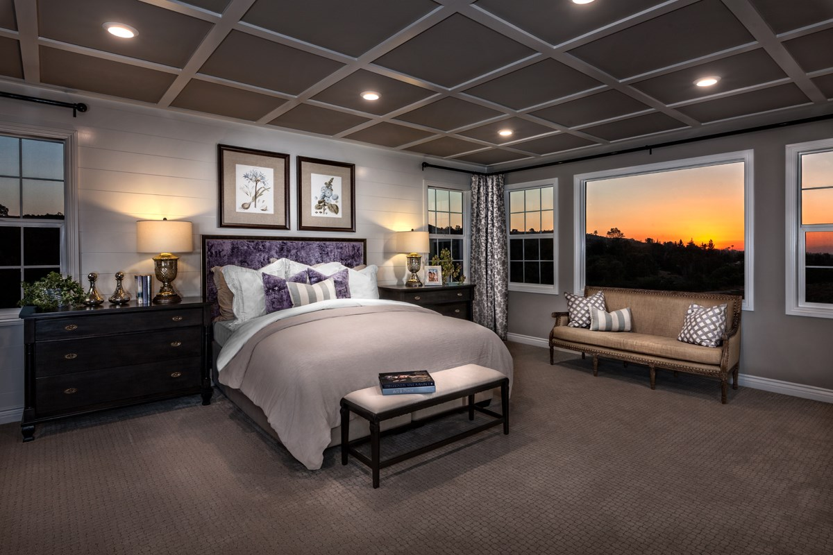 New Homes in Riverside , CA - The Trails at Mockingbird Canyon Residence 5084 - Master Bedroom