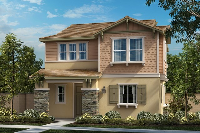 New Homes in Chino, CA - Craftsman 'C'