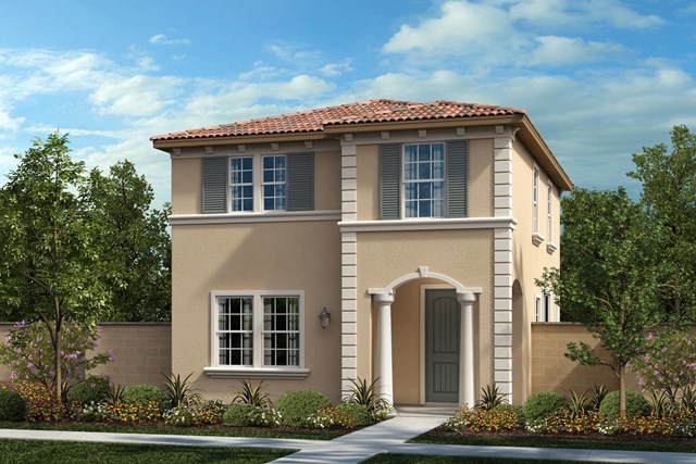 New Homes in Chino, CA - Traditional 'D'