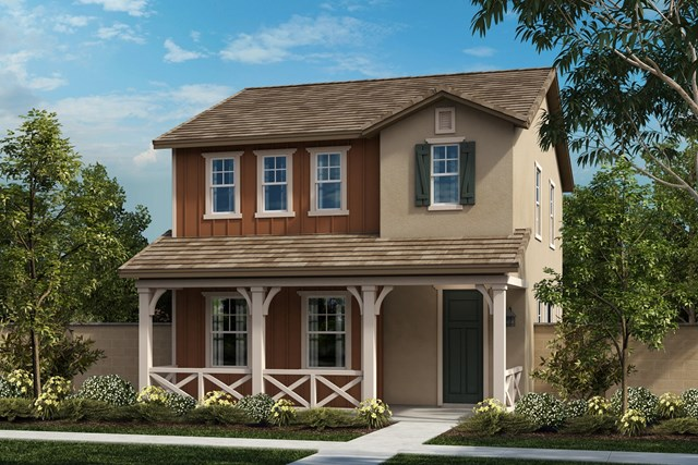 New Homes in Chino, CA - California Ranch 'F'
