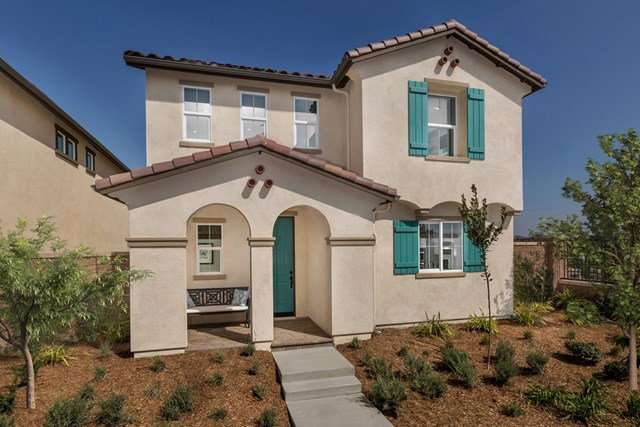 New Homes in Chino, CA - Spanish 'A'
