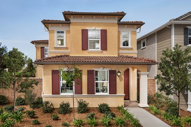 New Homes in Chino, CA - Italianate 'E'