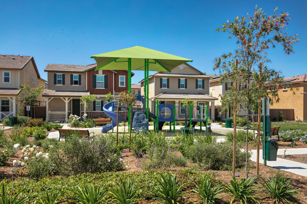 New Homes in Chino, CA - Turnleaf Play area