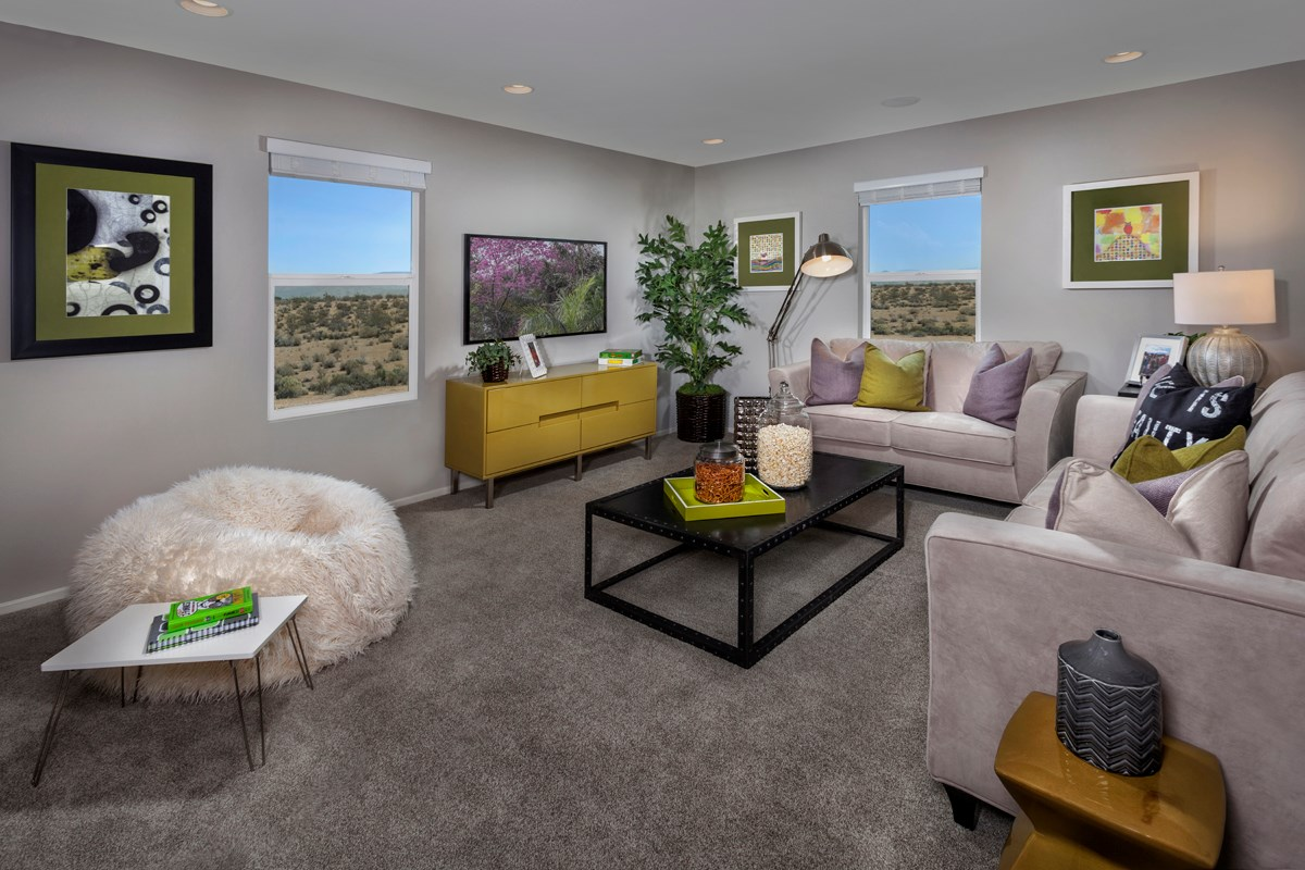 New Homes in Victorville, CA - Wildflower at Las Haciendas Residence Three - Loft