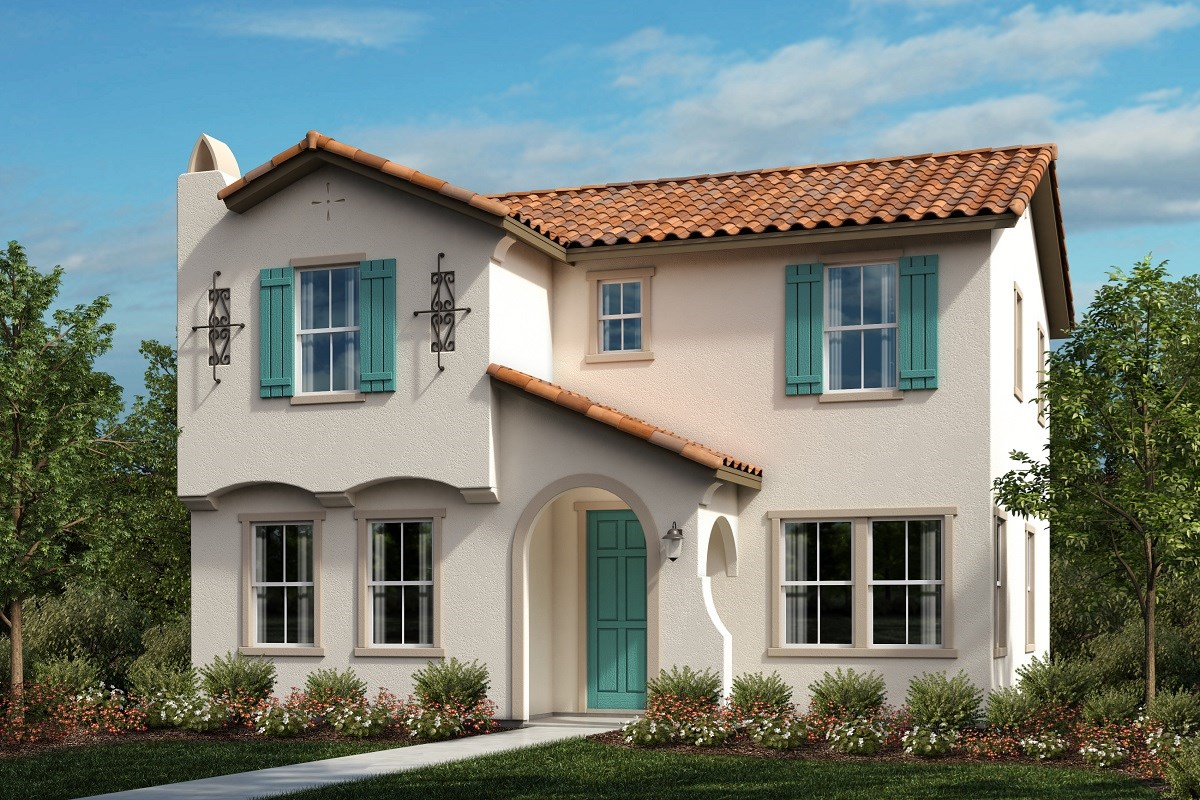 New Homes in Ontario Ranch, CA - Willowmore at Park Place Residence 2280 - Spanish 'A'