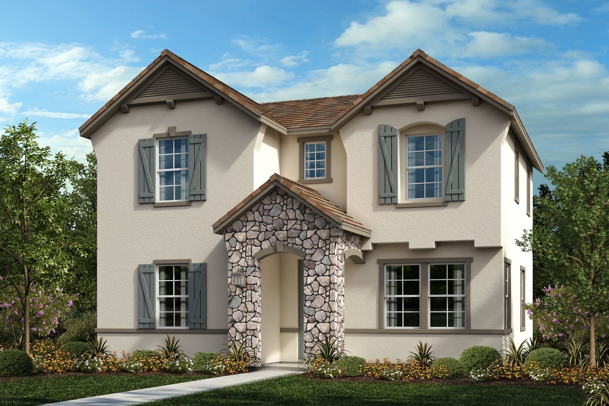 New Homes in Ontario Ranch, CA - Willowmore at Park Place Residence 2280 - Cottage 'B'