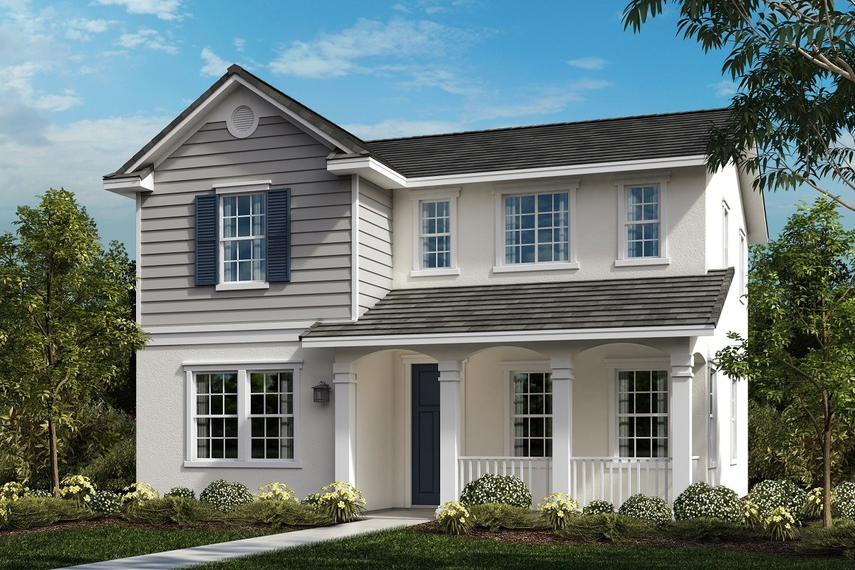 New Homes in Ontario Ranch, CA - Willowmore at Park Place Residence 2280 - American Traditional 'D'