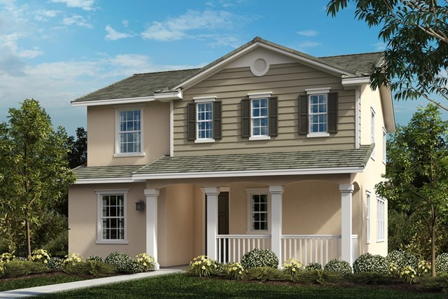 New Homes in Ontario Ranch, CA - American Traditional 'C'