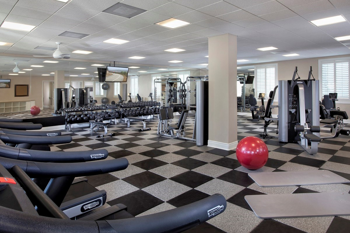 New Homes in Ontario Ranch, CA - Willowmore at Park Place The Parkhouse Gym