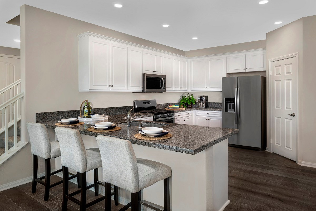 New Homes in Ontario Ranch, CA - Willowmore at Park Place Residence 2479 - Kitchen