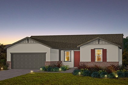 New Homes in Stockton, CA - The Brianna - Craftsman