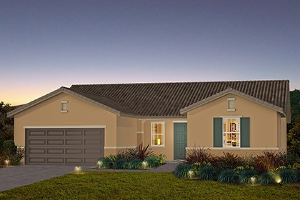 New Homes in Stockton, CA - The Brianna - Tuscan