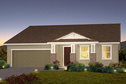 New Homes in Stockton, CA - The Marlow - Craftsman