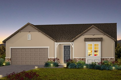 New Homes in Stockton, CA - The Marlow - French Cottage