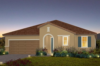 New Homes in Stockton, CA - The Marlow - Tuscan