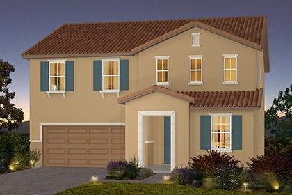 New Homes in Stockton, CA - The Brecher - Tuscan