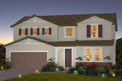 New Homes in Stockton, CA - The Derby - French Cottage