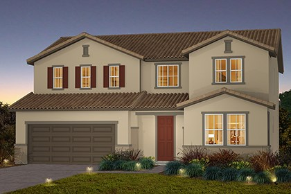 New Homes in Stockton, CA - The Derby - Tuscan