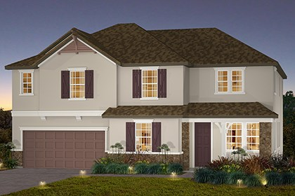New Homes in Stockton, CA - The Pearl-French Cottage