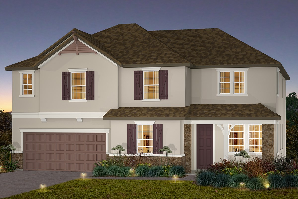 New Homes in Stockton, CA - Avalon The Pearl - French Cottage