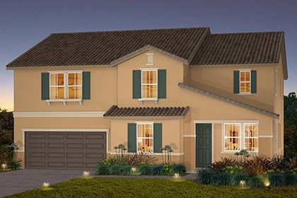 New Homes in Stockton, CA - The Pearl-Tuscan