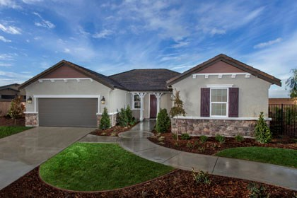 New Homes in Stockton, CA - The Brianna - French Cottage