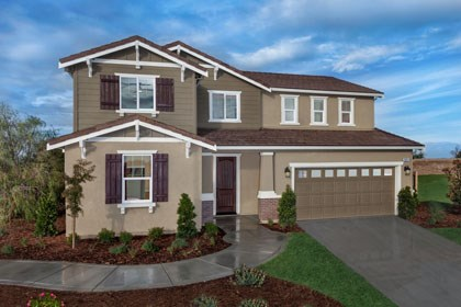 New Homes in Stockton, CA - The Derby - Craftsman