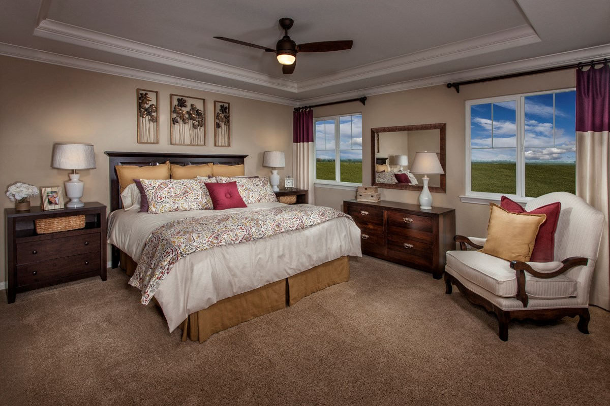 New Homes in Stockton, CA - Avalon The Derby - Master Bedroom