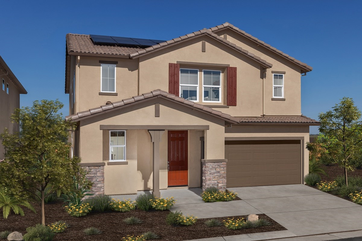 New Homes in Stockton, CA - Belluno Plan 2091 Exterior