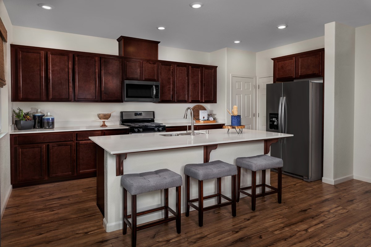New Homes in Stockton, CA - Belluno Plan 2091 Kitchen