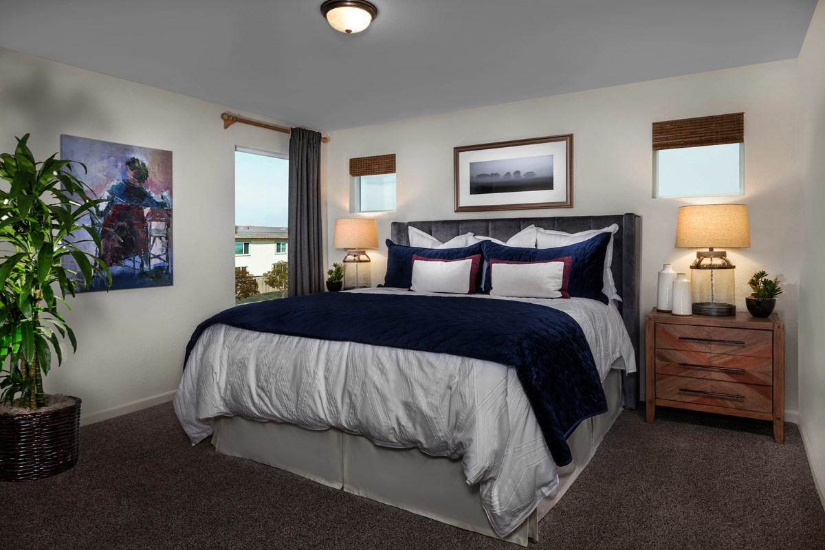 New Homes in Stockton, CA - Belluno Plan 2091 Master Bedroom