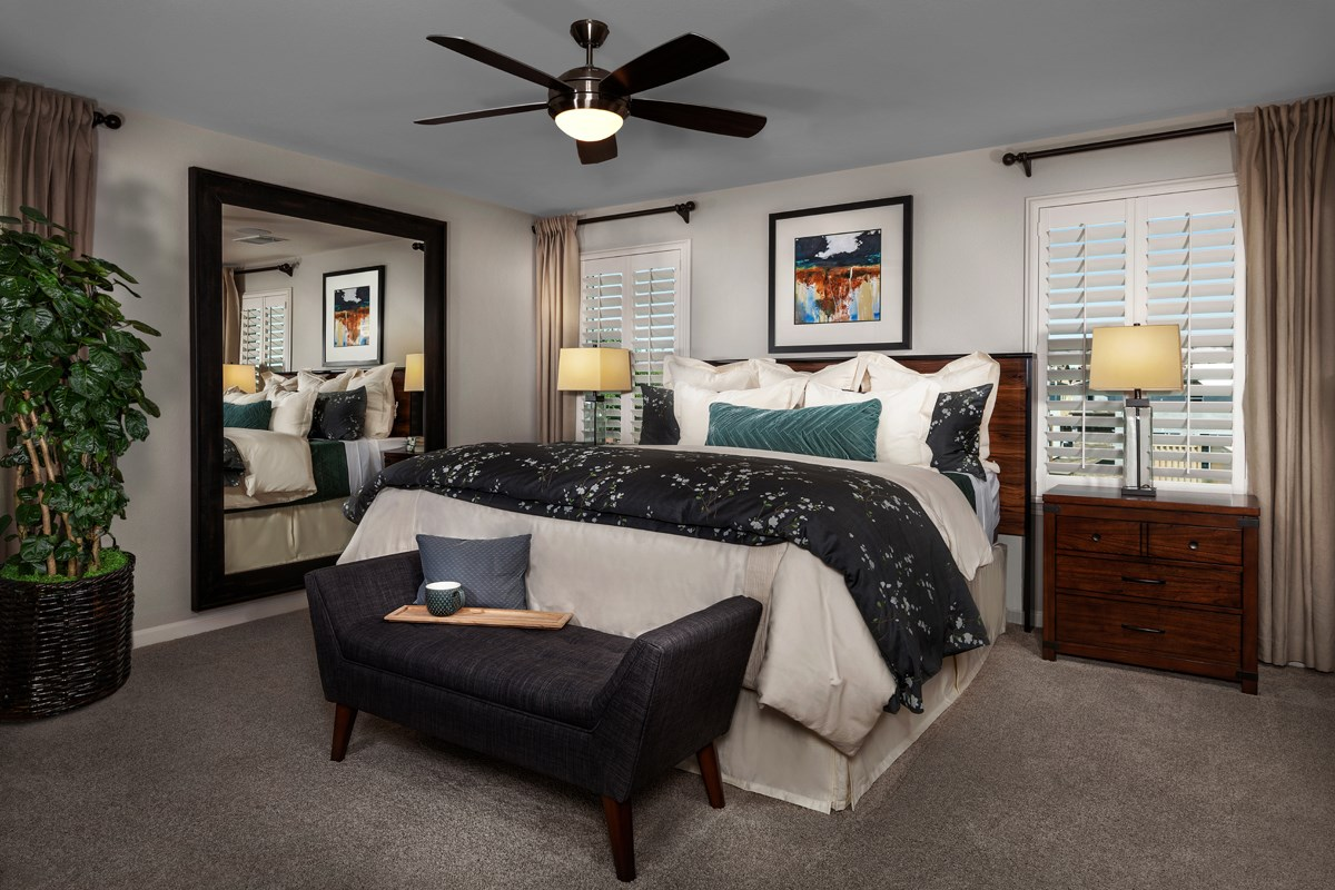 New Homes in Stockton, CA - Belluno Plan 2229 Master Bedroom