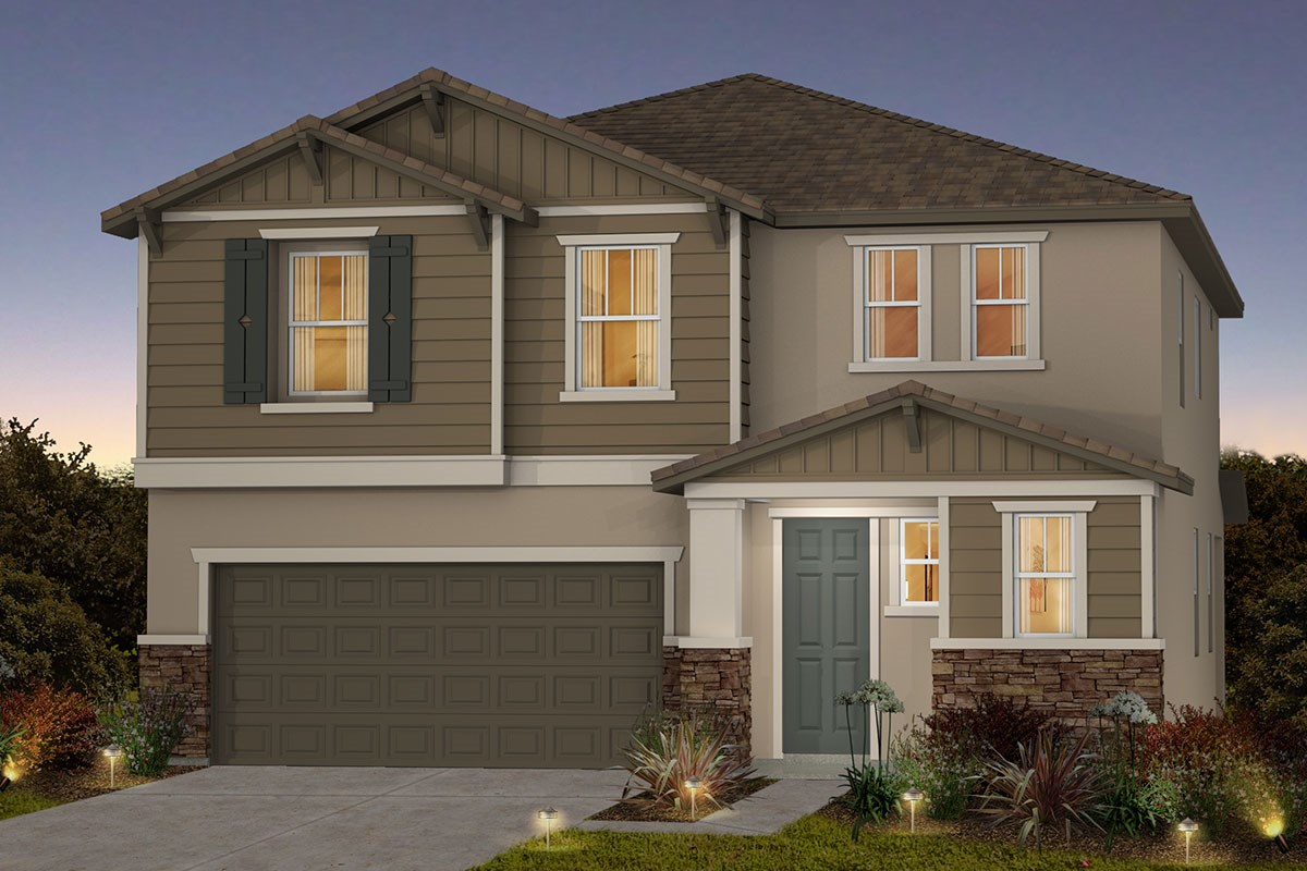 New Homes in Roseville, CA - Cadence at WestPark Plan 2137 B