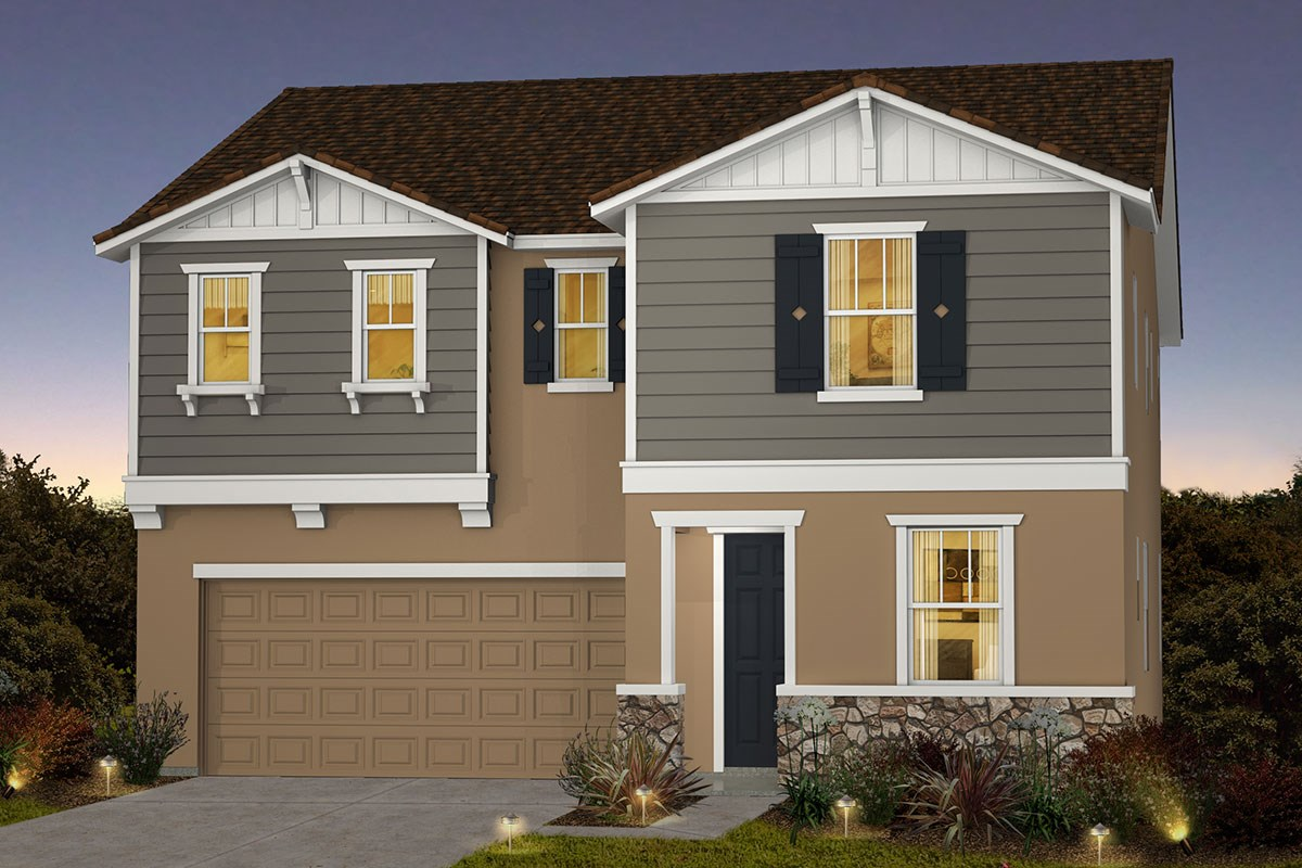New Homes in Roseville, CA - Cadence at WestPark Plan 2620 B