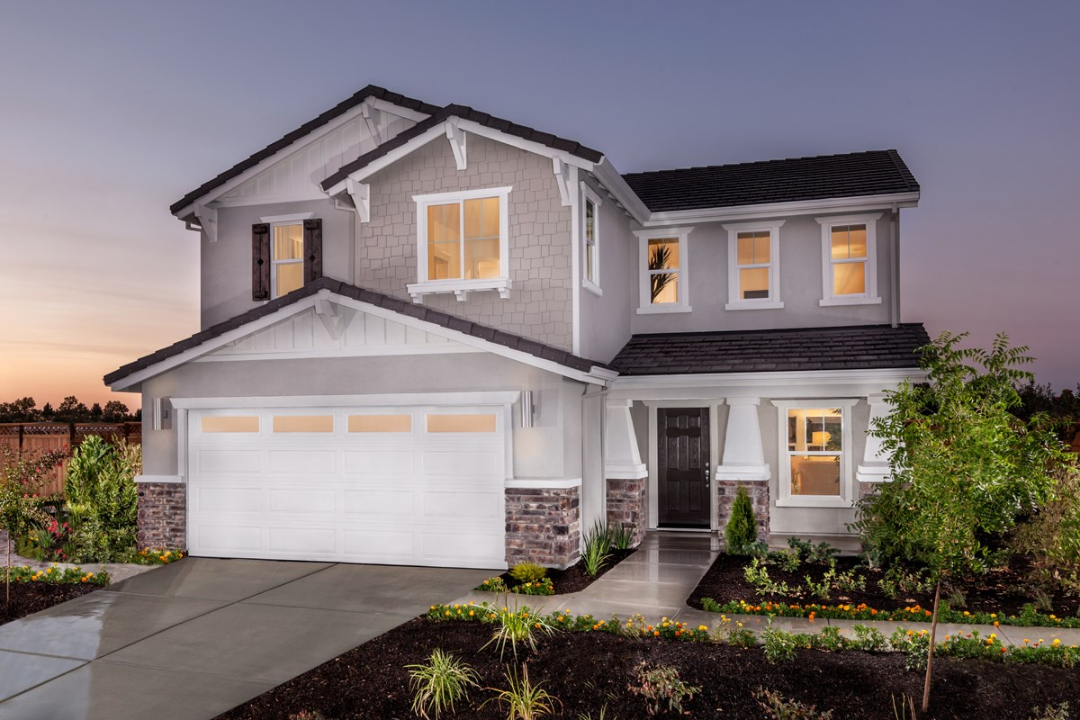 New Homes in Elk Grove, CA - Cypress Cove at Monterey Village Plan 2