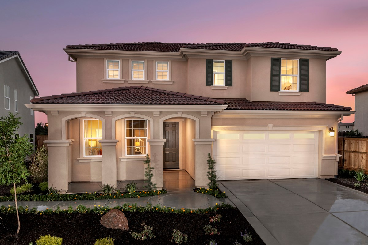 New Homes in Elk Grove, CA - Cypress Cove at Monterey Village Plan 3