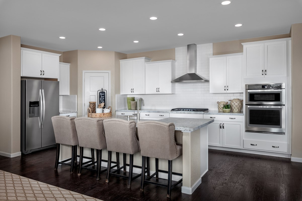 New Homes in Elk Grove, CA - Cypress Cove at Monterey Village Plan 3 Kitchen
