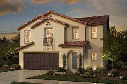 New Homes in Rocklin, CA - Plan 2 - Spanish