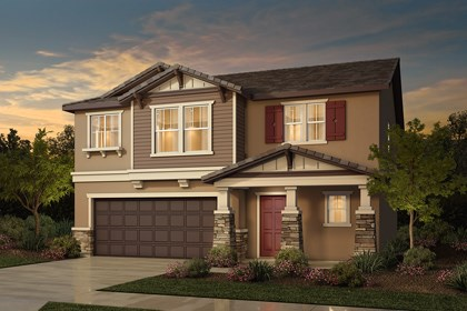 New Homes in Rocklin, CA - Plan 2 - Craftsman