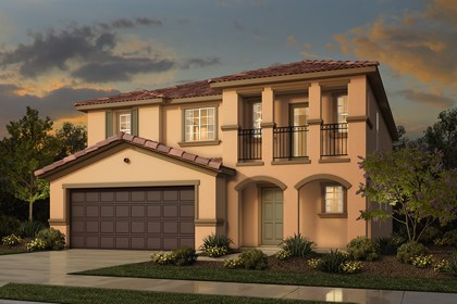 New Homes in Rocklin, CA - Plan 3 - Italianate