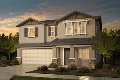 New Homes in Rocklin, CA - Plan 4 - Craftsman